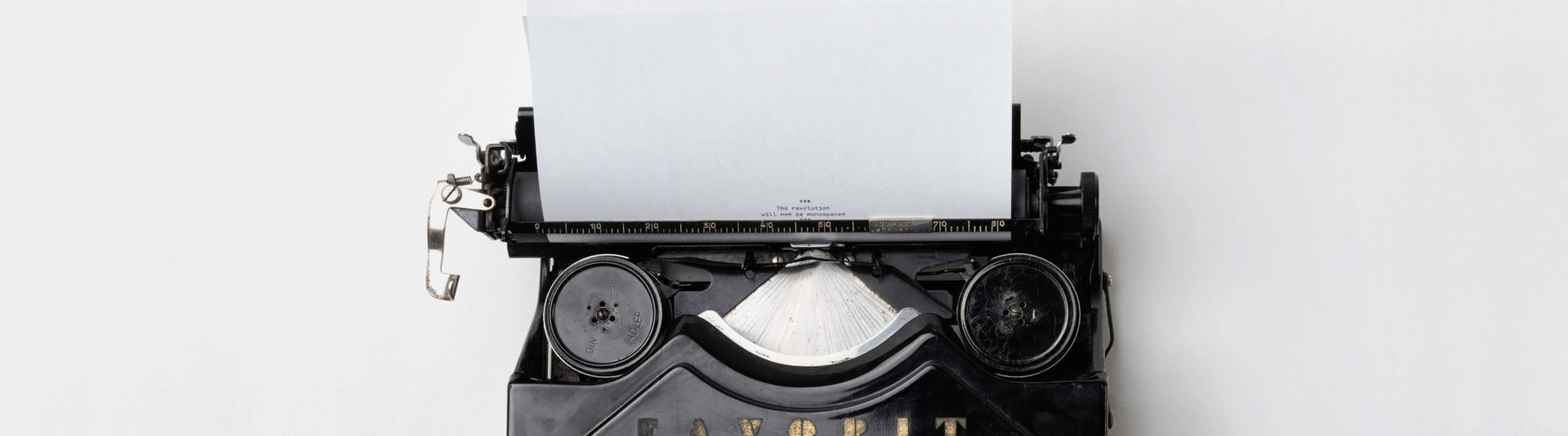 olden typewriter